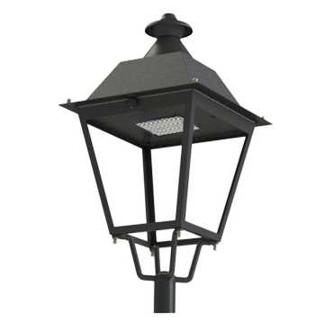 100W LED Gartenleuchte (Laterne)